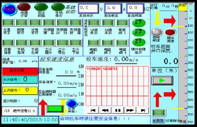 plc提升机的硬件接线图